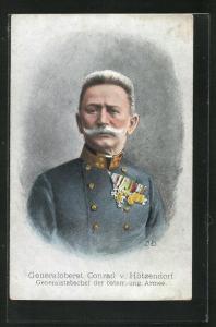 AK Generaloberst Conrad von Hötzendorf, Generalstabschef der österr.-ung. Armee