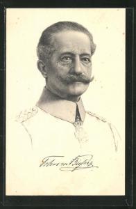 AK General der Kavallerie Freiherr von Bissing, General-Gouverneur von Belgien