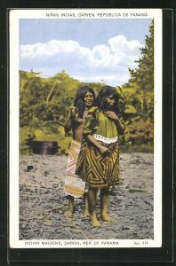 Künstler-AK Darien, Indian Maidens