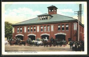 AK Leominster, MA, Central Fire Station