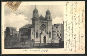 AK Anvers, La nouvelle Synagoge