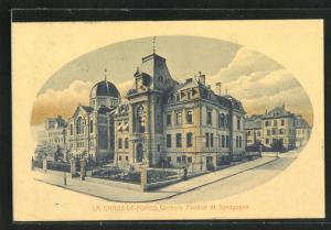 AK La Chaux-de-Fonds, Controle Federal et Synagoge