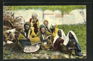 AK Jerusalem, Grouppe des Lepreux