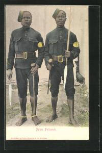 AK Native Policemen with weapons
