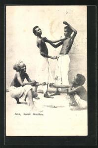 AK Aden, Somalische Ringer beim Training