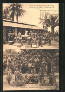 AK Vannerie, Mandenmakery, afrikanische Bäcker