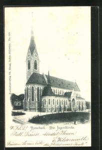 AK Rorschach, Ansicht der Jugendkirche
