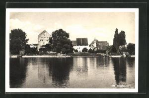 AK Greifensee, Ortspartie am Flussufer