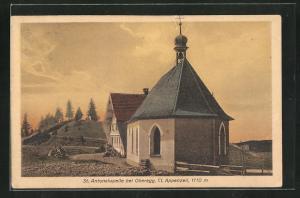 Künstler-AK Oberegg, St. Antonskapelle