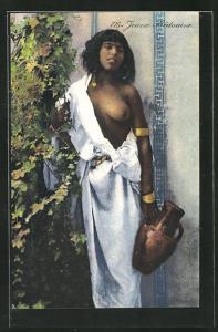 AK Jeune Bedouine, arabische nackte Frau