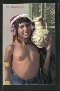 AK Ragazza araba, junge arabische nackte Frau