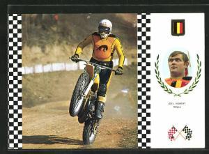 AK Motorradrennen, belgischer Rennfahrer Joel Robert auf einer Suzuki Japonesa