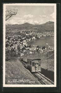 AK Lugano-Paradiso, con la Funicolare del Monte S. Salvatore