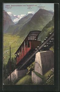 AK Braunwaldbahn, Kammerstock, Tödi, Bifertenstock