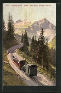 AK Schynige-Platte-Bahn, Blick gegen Sulegg