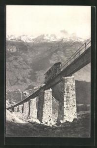 AK Niesenbahn, Heger-Viaduct mit 66% Steigung