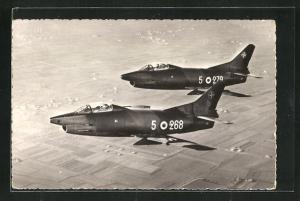 AK Kampfflugzeug Fiat G. 91R der NATO