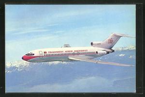AK Verkehrsflugzeug vom Typ Boeing 727 der Transportes Aéreos Portugueses