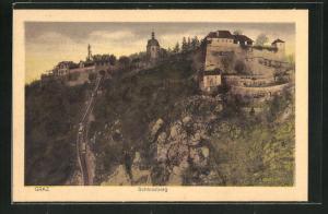 AK Graz, Bergbahn und Schlossberg