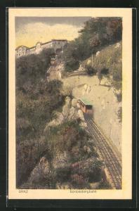 AK Graz, Strecke der Schlossbergbahn