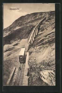 AK Niesenbahn auf der Strecke