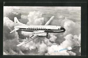 AK Convair 340 Mittelstreckenflugzeug der Deutsche Lufthansa