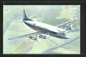 AK Vickers Viscount der Air France