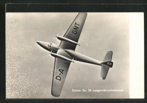 AK Flugzeug vom Typ Dornier Do 26