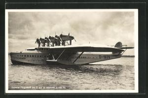 AK Dornier Flugschiff Do X mit 12 Motoren à 600 PS
