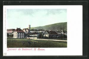 AK Delémont, Ortsansicht