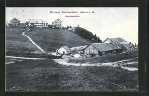 AK Weissenstein, Kurhaus, Nordwestseite