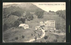 AK Ober-Balmberg, Partie am Kurhaus