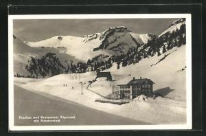 AK Balmberg, Pension & Restaurant Alpstubli im Winter
