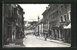 AK Porrentruy, Grand'Rue et Rue du Marche