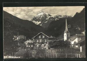 AK Mühlehorn, Teilansicht mit Kirche