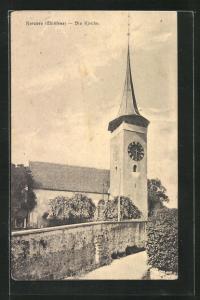 AK Kerzers, Die Kirche