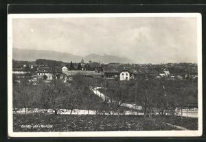 AK Bussy-sur-Morges, Blick auf die Ortschaft