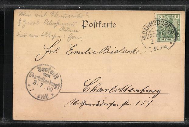 AK Buckow / Märk. Schweiz, Ortsansicht vom Schlossberg gesehen 1