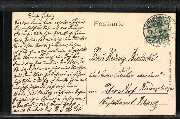 AK Bad Freienwalde a. O., Kurfürsten-Quelle 1