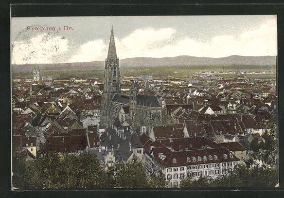 AK Freiburg i. Br., Ortsansicht 0