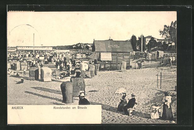 AK Ahlbeck, Abenstunden am Strande 0