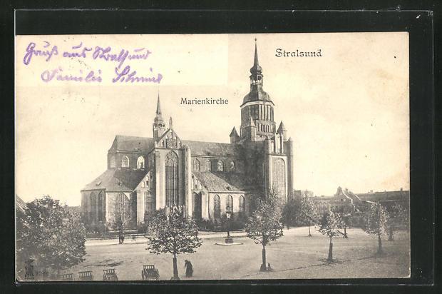 AK Stralsund, Marienkirche 0