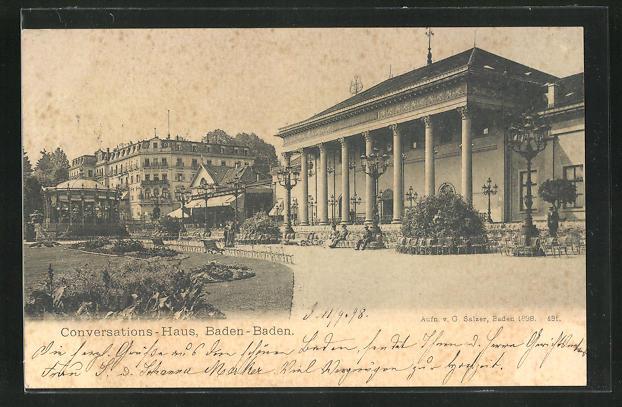 AK Baden-Baden, Conversations-Haus 0