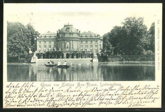 AK Ludwigsburg, Schloss Mon-Repos 0