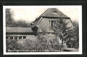 AK Kloster a / Hiddensee, Gerhart Hauptmanns Heim- u. Arbeitsstätte