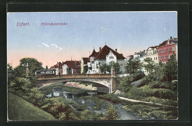 AK Erfurt, Pförtchenbrücke 0