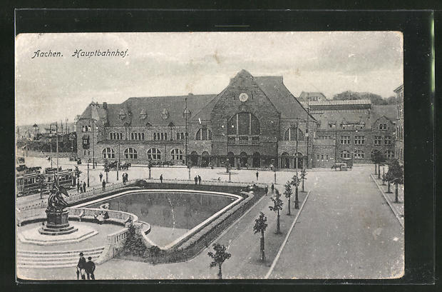 AK Aachen, Hauptbahnhof 0