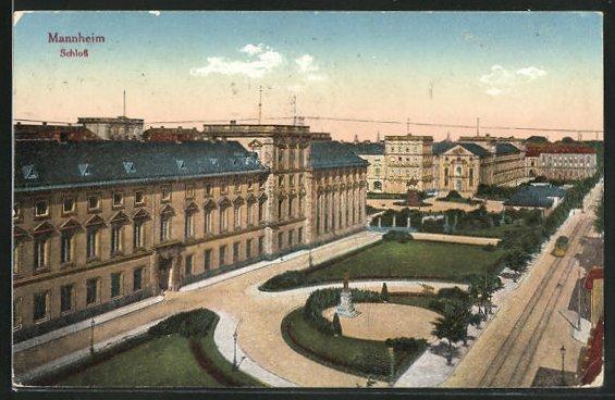 AK Mannheim, Schloss 0