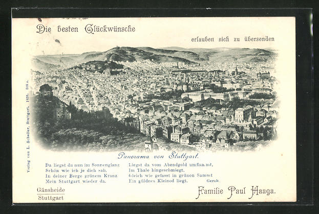 AK Stuttgart, Panorama 0