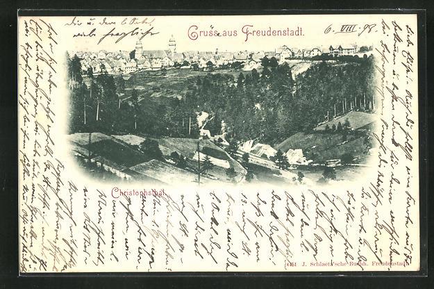 AK Freudenstadt, Christophsthal 0